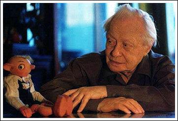 Сергей Владимирович Образцов (1901–1992). Подумать только, когда-то по телевизору показывали детские кукольные спектакли... А иногда и взрослые...
