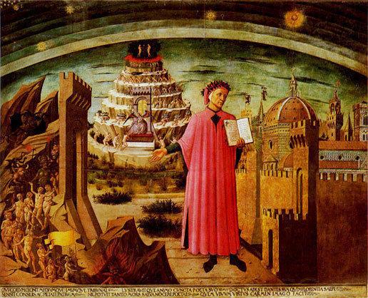 Данте сделал большой вклад в развитие единого итальянского языка