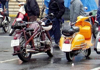 Мотоцикл и скутер