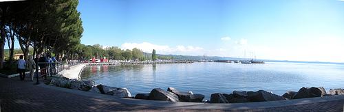 Озеро Больсена - вулканическое