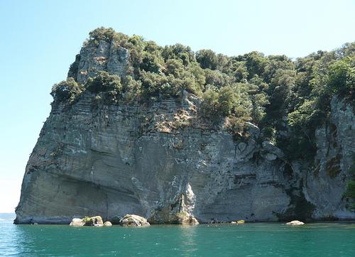 Остров Бизентина - плод вулканических извержений