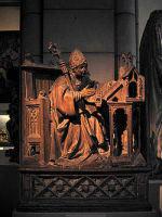 Святой Амвросий из коллекции Метрополитен-Музея в Нью-Йорке