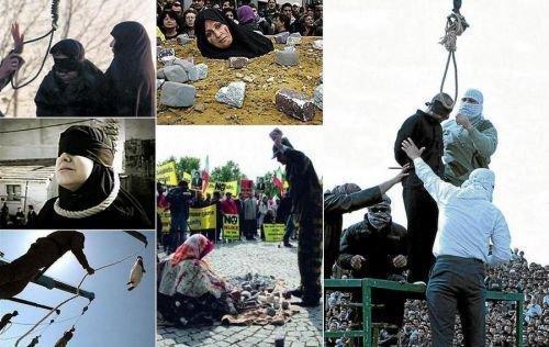 Протест голых персиянок