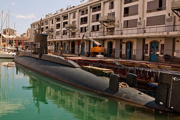 Генуя подводная лодка