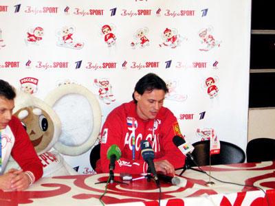 Конькобежец Дмитрий Дорофеев