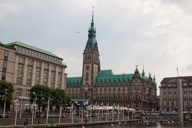 Городская ратуша Гамбурга