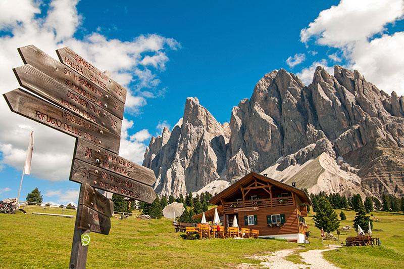 Дом в Южном-Тироле, Больцано. Фото Thinkstock