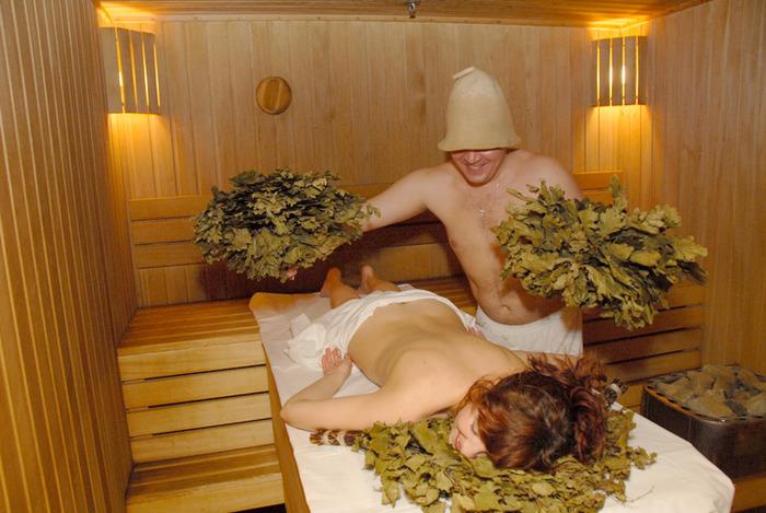 Занятие сексом в бане