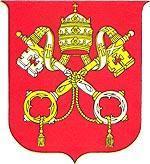 Герб государства-города Ватикан.