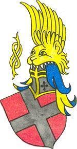 Герб Савойского дома. Из гербовника XV века.