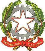 Эмблема Итальянской Республики.