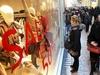 Русские туристы выстраиваются в очереди возле модных итальянских магазинов в пог