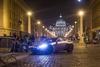 Астон Мартин агента 007 под Сан-Пьетро: сьемки в Риме продолжаются