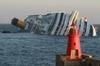 Крушение круизного лайнера Costa Concordia может привести к экологической катаст