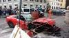 Феррари разбивает витрину и вьезжает в магазин в центре Рима: водитель запутался