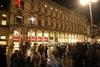 На Соборной площади Милана открыли музыкальный рождественский календарь