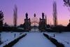 Магия снега в самых красивых парках Италии