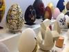 Шедевры живописи на пасхальных яйцах представлены публике Рима