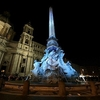 Зажглись огни площади Пьяцца Навона в рамках новой инициативы от мэрии Рима