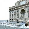 30 июня начинается реставрация одного из символов Рима - фонтана Треви
