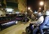 Итальянская журналистка прибыв на место преступления, где произошло двойное убий