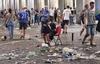 Полиция Турина арестовала 8 человек, из-за которых возникла паника и давка на пл
