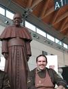 На международной выставке SIGEP представят шоколадного Давида Микеланджело