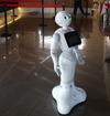 В Италии появился первый консьерж-робот!