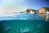 Фотография: выставка под водой на острове Понца
