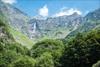 Провинция Бергамо: вчера состоялось первое в этом году открытие водопада Серио