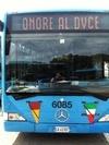 Водитель одного из римских автобусов воздал честь фашистскому диктатору Муссолин