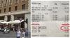 """Очередной """"сумасшедший чек"""" в Риме: 120 евро за перекус на ходу в баре"""