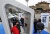 В Турине установлена телефонная кабина будущего с выходом в Интернет и зарядкой