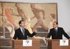 Дмитрий Медведев на встрече с Сильвио Берлускони в Риме открыли год культуры Рос