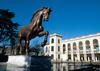 В Милане появилась копия Коня Леонардо