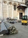 Купол пизанского Кафедрального собора погрузился в строительные леса