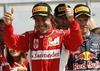 Фернандо Алонсо выиграл Гран-при Великобритании, завоевав первую победу «Феррари