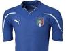 Новая форма национальной сборной Италии по футболу напоминает доспехи рыцарей