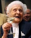 Итальянскому лауреату Нобелевской премии Рите Леви-Монтальчини исполнился 101 го