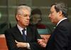 Итальянский премьер-министр Марио Монти и глава ЕЦБ Марио Драги вошли в список 1