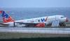 Аэропорт в Палермо временно закрыт из-за неудачного приземления самолета