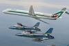 Alitalia распрощалась с самолетами MD-80