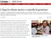 Итальянца лишили пенсии, посчитав его мертвым, теперь тому предстоит доказать, ч