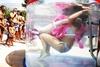 В Риччоне прошел конкурс на самый долгий подводный поцелуй