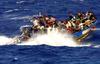 В Сицилийском проливе затонула лодка с 250 мигрантами