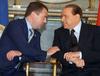Сильвио Берлускони и Дмитрий Медведев провели переговоры в Милане, в ходе которы