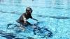 В Бьелле установили рекорд подводной езды на велосипеде
