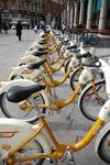 Пользоваться общественными велосипедами в Милане теперь можно и ночью