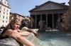 Несмотря на сильную жару в Италии, синоптики предсказывают дальнейшее повышение
