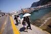 На островах Капри и Искья запретили ездить на автомобилях